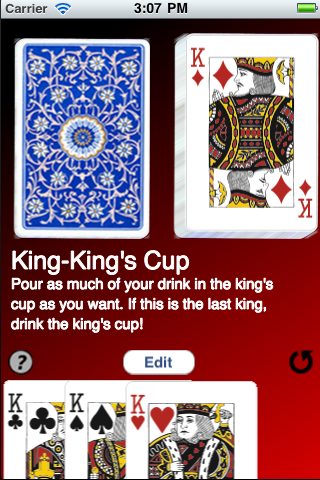 Screenshot King's Cup Free